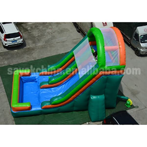 Inflatable Water Slide Inground Pool For Sale Inflatable Slide For Children Long Water Slide Inflatable