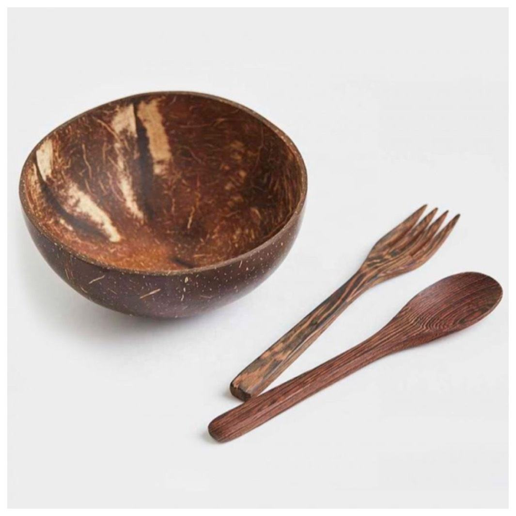 Coconut Shell Bowl And Spoon/Vietnam Coconut Bowls Set For Cooking Buy Nature Coconut Shell Bowl