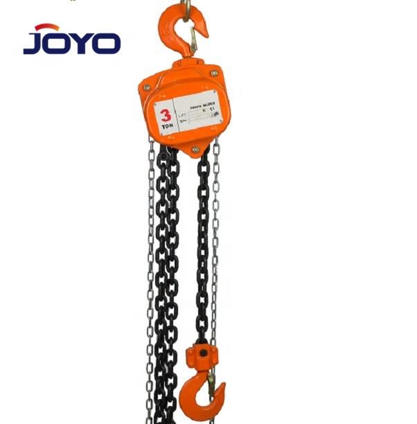 CE certified 1.5ton 3ton Standard Lifting hoist manual chain block