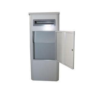 Outdoor Home Packages Smart Stainless Steel Metal Parcel Post Letter Mail Drop Delivery Box