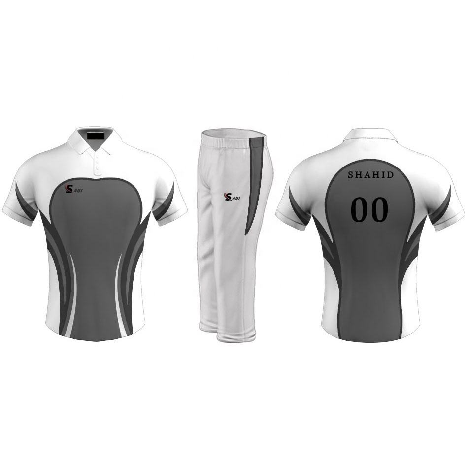Custom Your Own Design All Over Printed Cricket Uniforms / new model cricket jersey