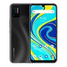 Stock Unlocked UMIDIGI A7 Pro Smartphone 64GB 128GB Face ID & Fingerprint Identification 6.3 inch Android 10 4G Mobile Phone