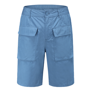 fashion comfortable cool solid color slim custom cotton shorts for men