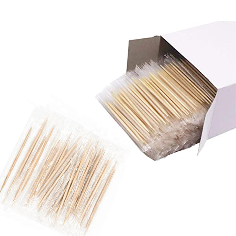 Natural Individually Wrapped toothpick bamboo