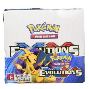 Il trasporto Libero 324pcs carte Pokemon Sun & Moon XY Evolutions Booster Box Charizard Trading Carte Carte Da Gioco