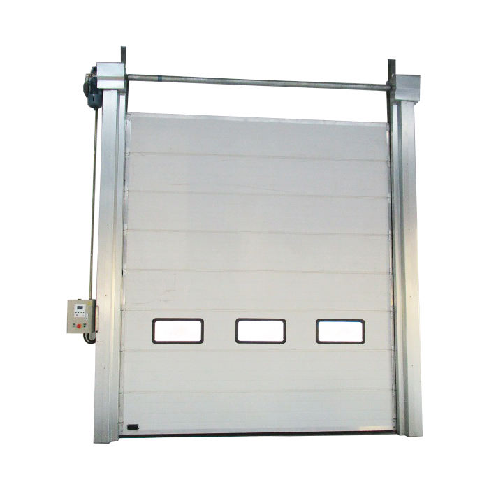 China Suppliers Commercial Garage Door Galvanized Garage Door