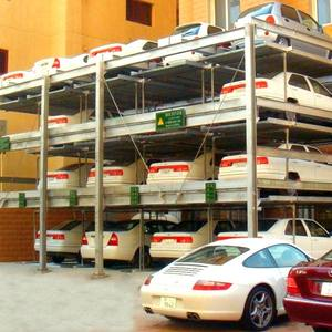 Smart Hydraulic multi-level Automatic Car Parking System