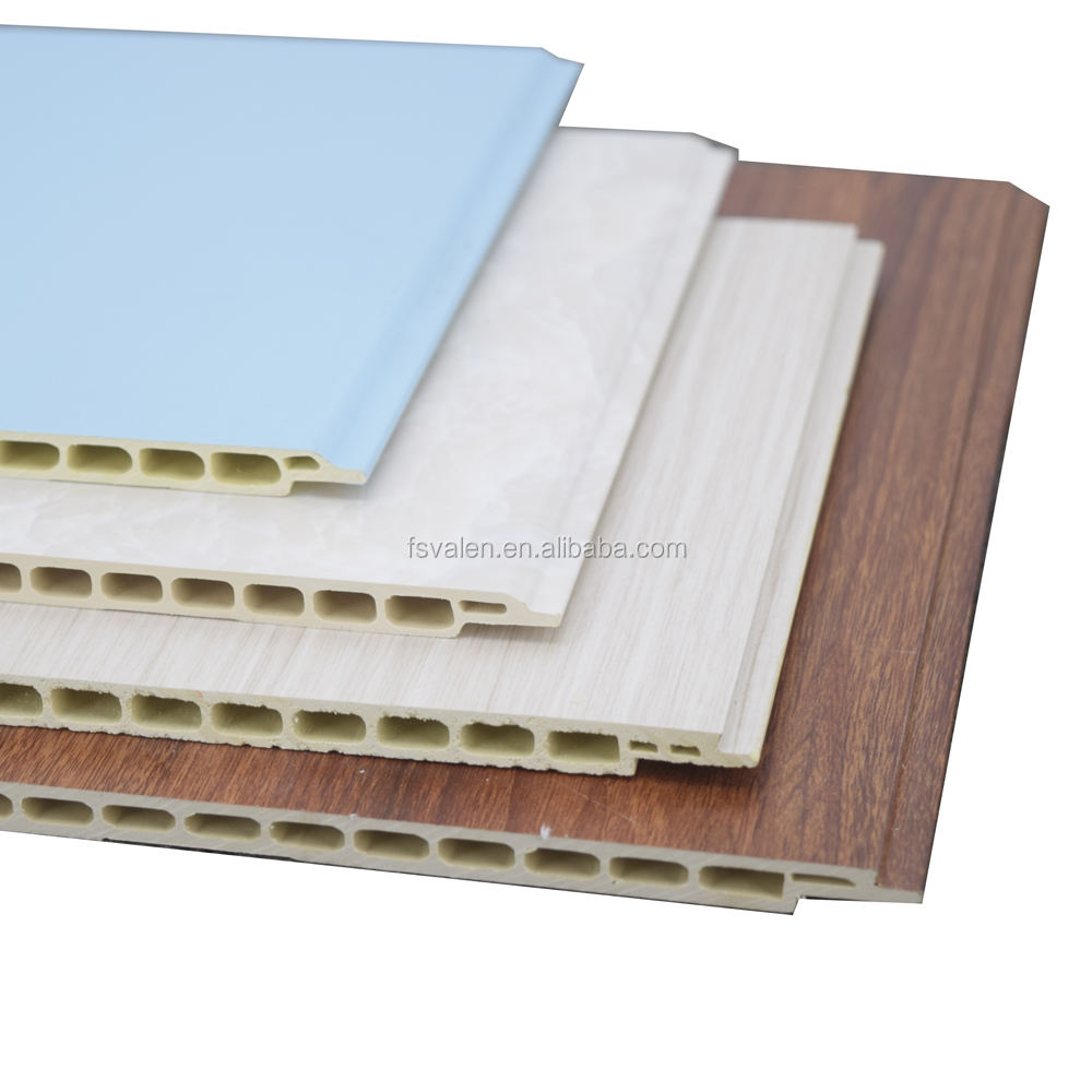 Good Price WPC Wall Panels Zero Formaldehyde 3d PVC Bamboo Plastic Wall Board Factory near Guangzhou
