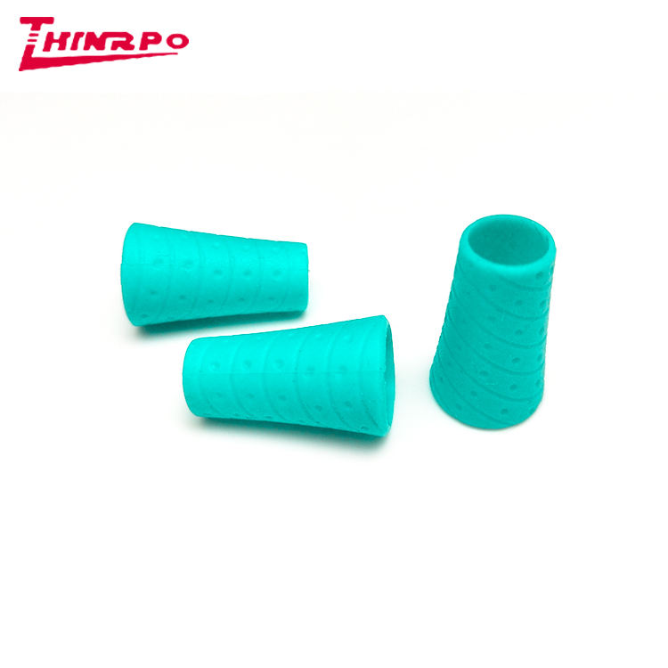 High Quality Soft Silicone Rubber Pencil Sleeve Grips for children