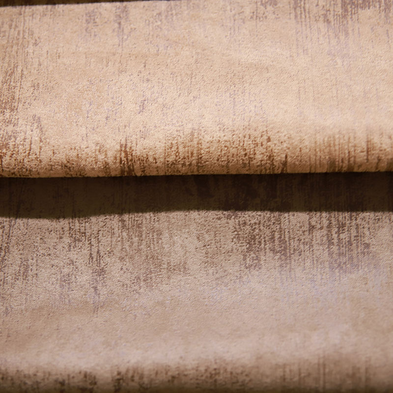 JES Upholstery furniture polyester types of suede fabric for sofa