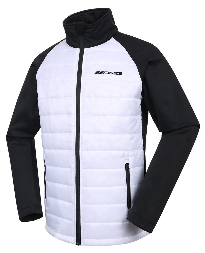 mens quilted jacket fashion puffy jacket winter padded jacket