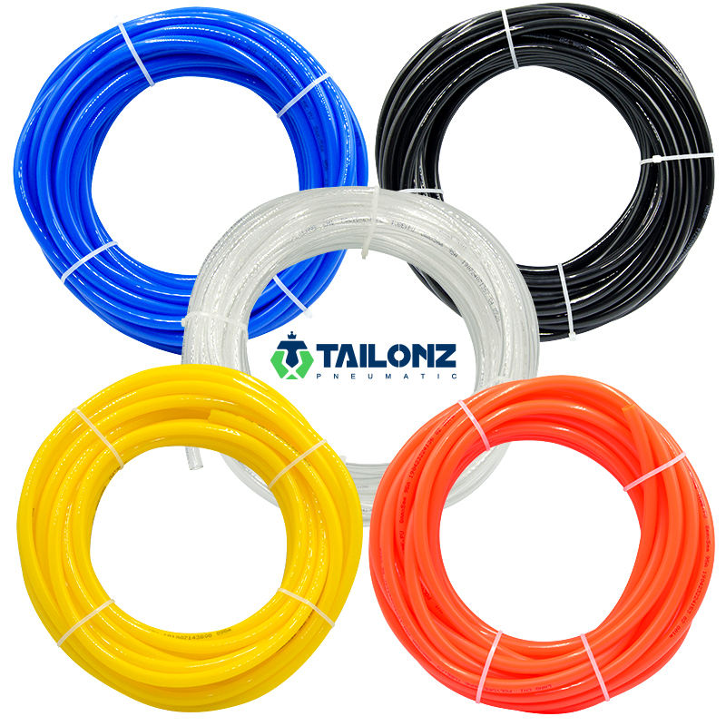 Tailonz PU Tube High Pressure Double Layer PA Hose, Nylon Pipe 1/4'',5/16'',3/8'',1/2'',5/8'' 4mm 6mm 8mm 10mm 12mm 14mm 16mm