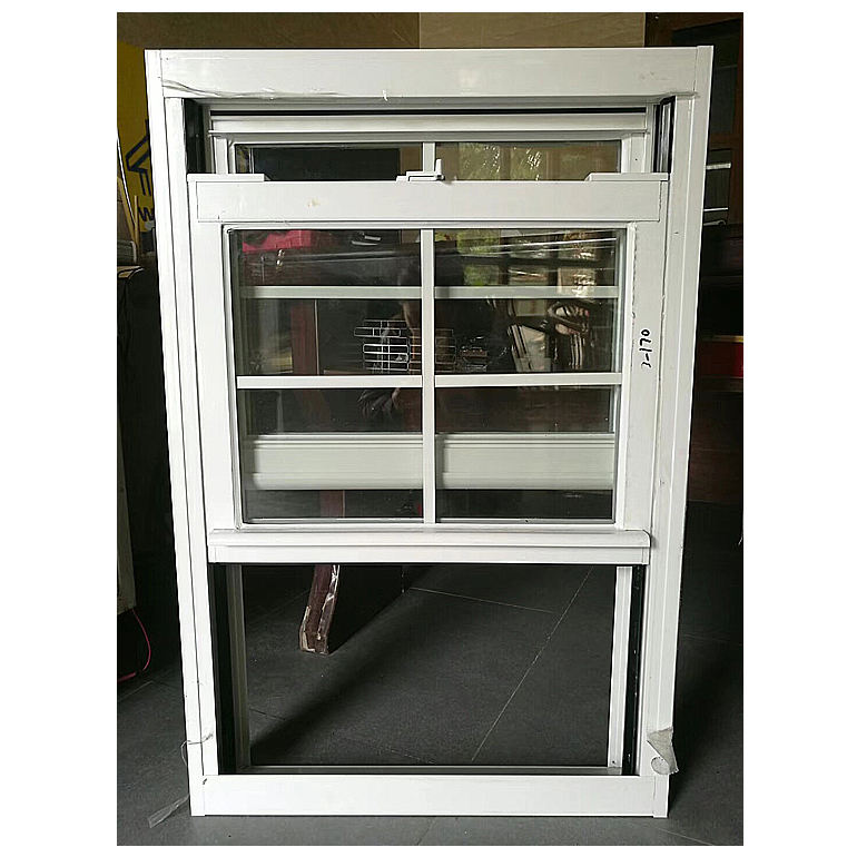 Factory price custom Vertical Slide aluminum frame double hung window