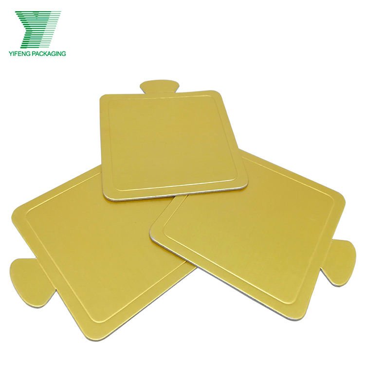 Round and rectangular cardboard high quality cake boards
