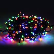 Custom outdoor christmas tree LED illumination decoration garland led light string holiday lighting for wedding decor