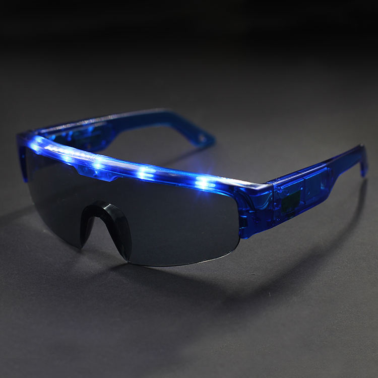 SKYWAY New LED Glow Sunglass Glasses Fashion Neon Light Up Glow Rave Costume Party Bright SunGlasses Easter Party Supplies