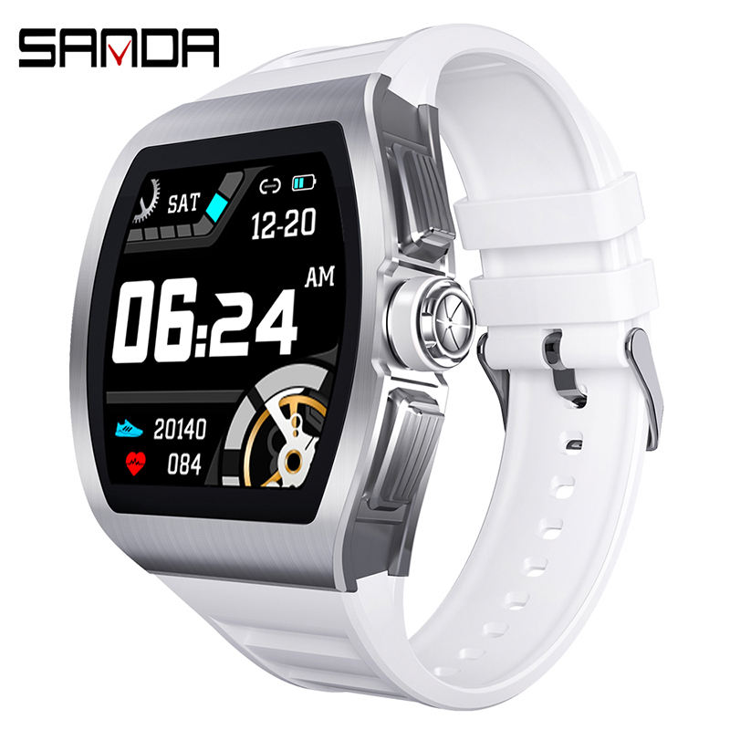 SANDA M1 Unisex smart bracelet with calling blood pressure heart rate music luminous android smart phones watch