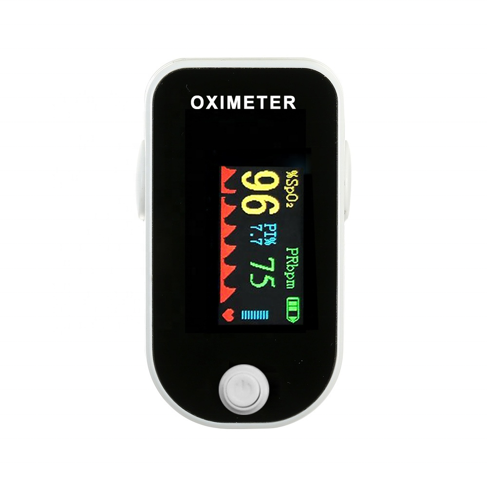 CE Approved Portable TFT Color Screen Display of spo2 free pulse Finger Pulse Oximeter