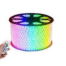 164ft LED Lights Strip Multicolor Waterproof RGB 3000 Units SMD 5050 LED Indoor/Outdoor Use, Decorative Lighting