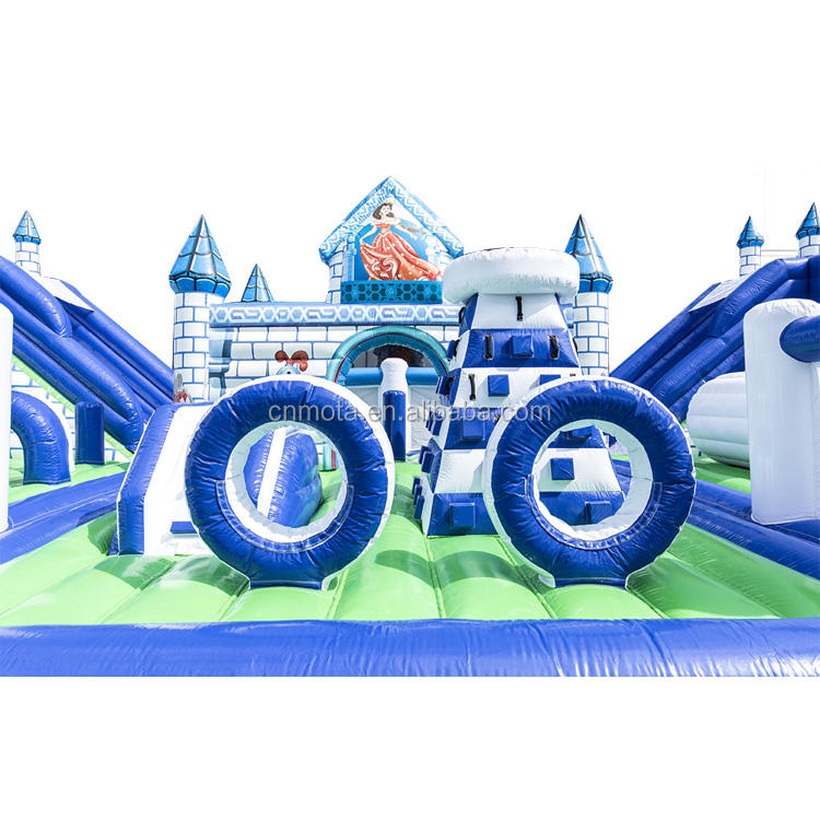 Inflatable Castle Playground Moonwalk Inflatable Playground Bouncy Castle World For Kids