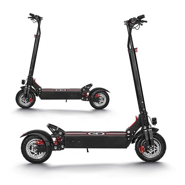 Newest hot selling 10inch Off Road SUV 48v 52v 1600w 2000w 2400w powerful dual charging scooter electric Scooters for Adults