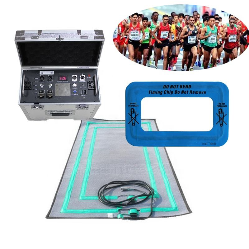 Timing System 2.5m RFID Antenna Capture Mat for Military Examination Timing System Sports Test