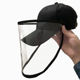 New Urgent protective hat and droplet waterproof protection baseball cap hat for fisherman hat
