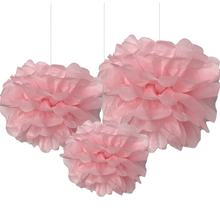 2020 wholesale New product 3pcs monochromatic pompom flower for Birthday,Wedding,Valentine,New year celebration party