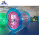 Inflatable Roller Ball, aqua park Zorbing Roller, top quality pvc and tpu swimming pool walking ball