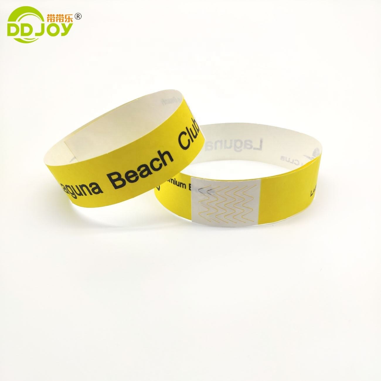 Disposable cheap events paper Wristband tyvek hand band for event