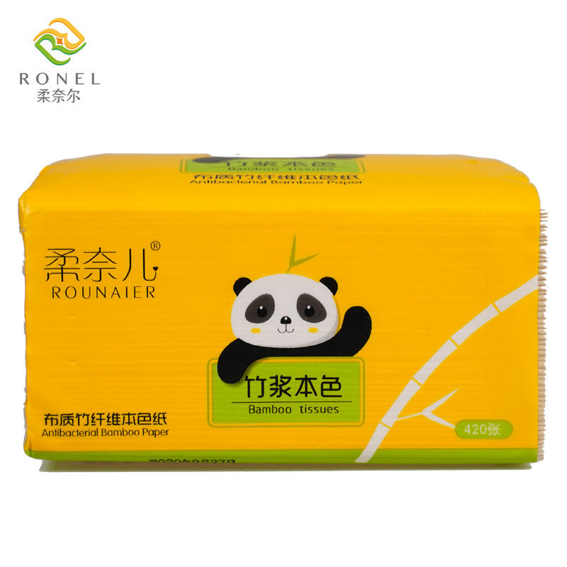 Factory Direct Supply Travel Soft Pack Custom 3 Ply White Primary colors Native Wood Pulp Facial Tissue
