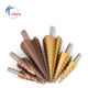 Step Drill Bits [ Bit Cone Core Bits ] Metal Drilling Drill Bit 3pc Hss Step Drill Bit Set Cone Hole Cutter Taper Metric 4 - 12 3-12 4-20mm 1 /
