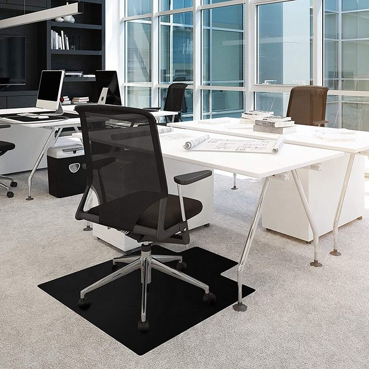High quality vinyl chair mat PVC office desk mat for flooring protection