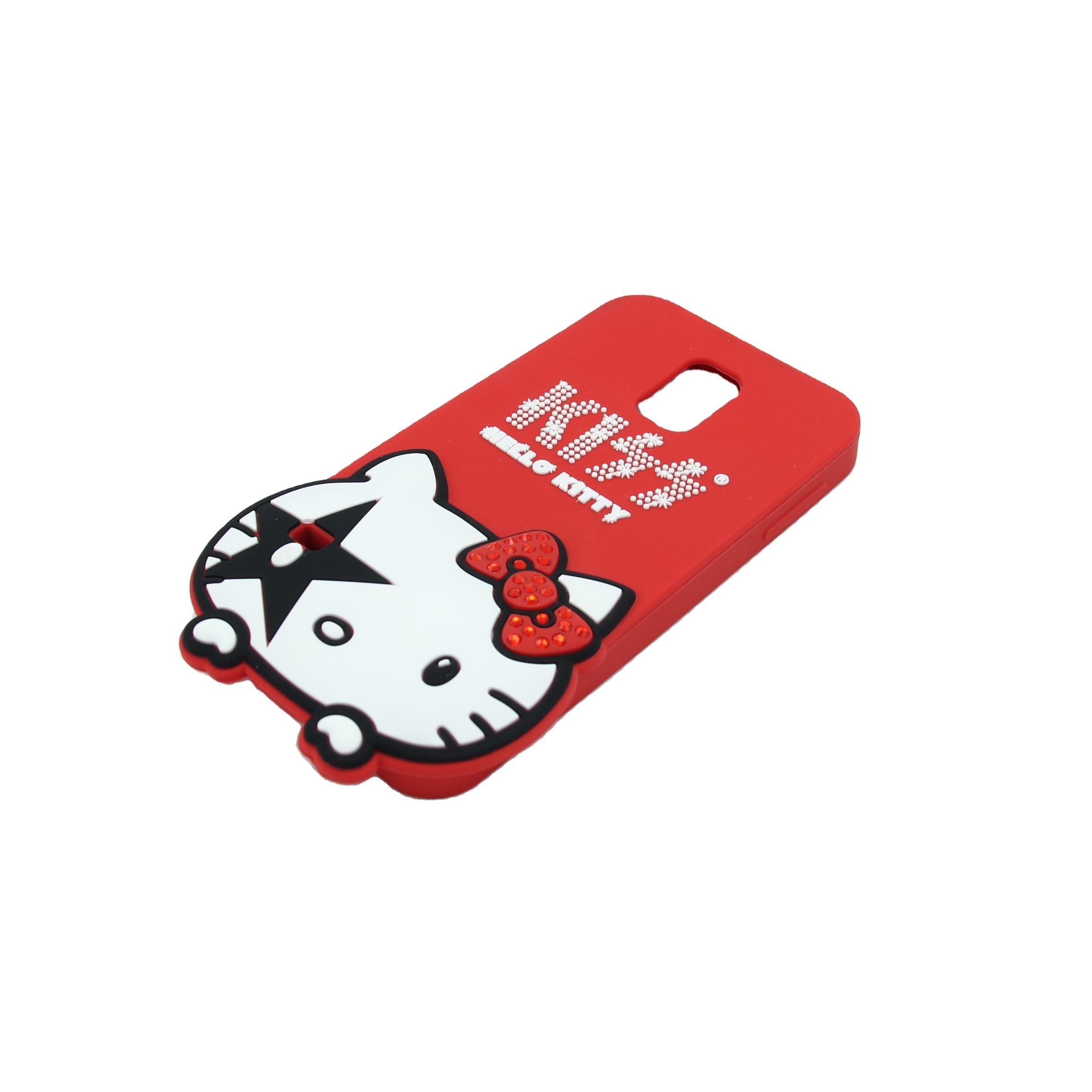 Hot sale kustom <span class=keywords><strong>hello</strong></span> <span class=keywords><strong>kitty</strong></span> silikon phone case untuk Iphone 11