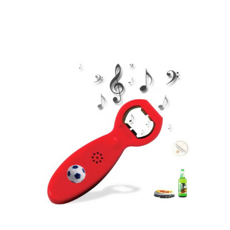 Sound music beer opener with voice talking bottle opener