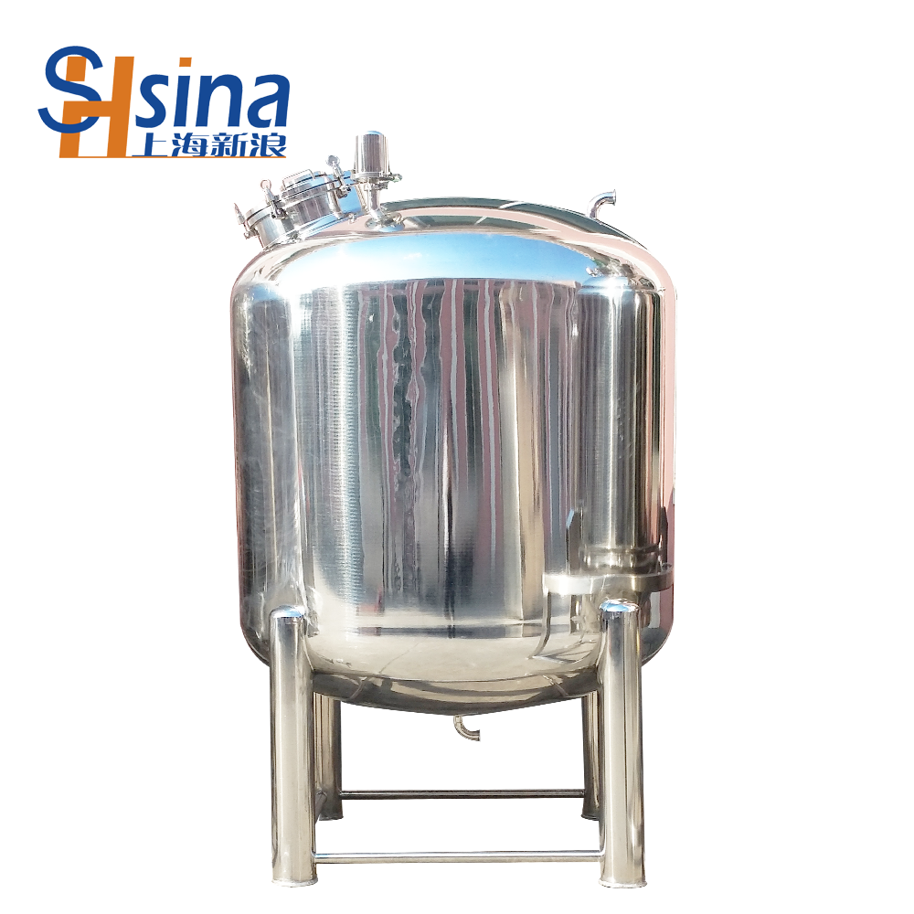 Large capacity milk/oil/hot water sealed storage tank with stainless steel 316L/304