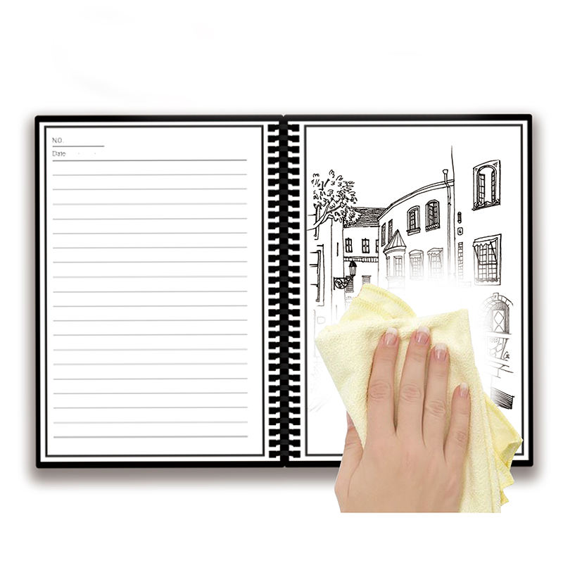 Owltree Custom 32k Wet Dry Erase Whiteboard Interesting Notebook Reusable Erasable Smart Business Notebook with App and Pen