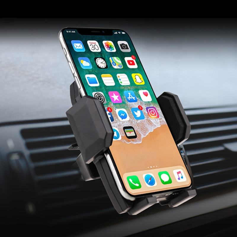 Universal Mobile Phone Car Mount GPS Stand 360 Degree Rotate Car Air Vent Phone Holder