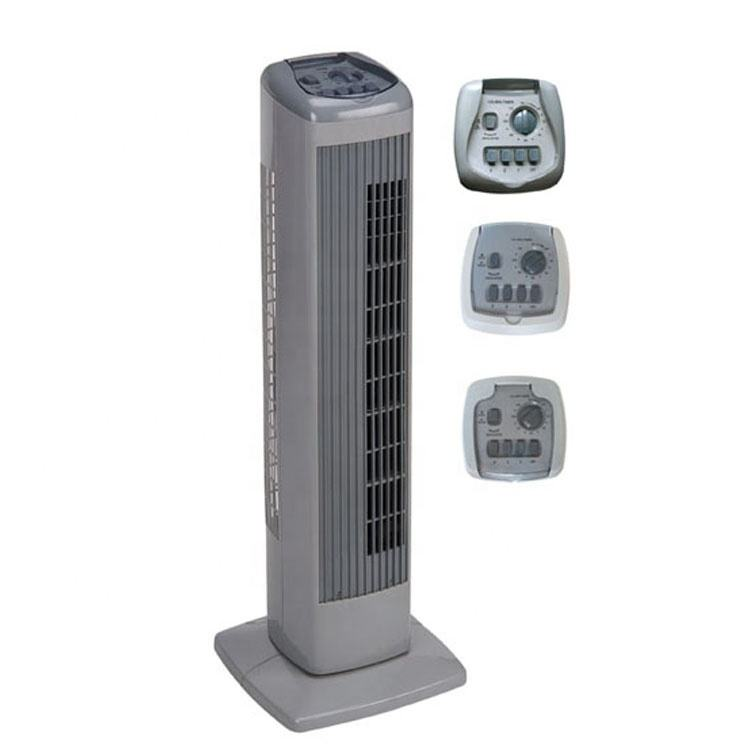 "29"" Best design cheap price room small modern modern safety oscillation summer electric air mini cooling tower fan"