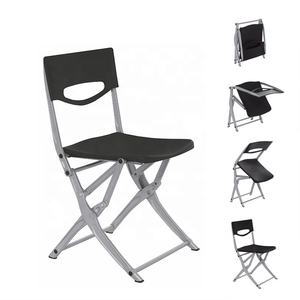 Modern Style Portable Aluminum Folding Chair Plastic Beach Chair Outdoor Furniture
