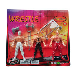 WWE Toys Action Figure Occupation Wrestling Gladiator Toys Characters Movable Figures Wrestler Kits for Boys play