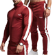 Anti-wrinkle Sports Suits Tracksuit Men Accept OEM Fitness Sports Hooded Sweater Casual Training Gym Track Suits Custom Mens Jogging Tracksuit