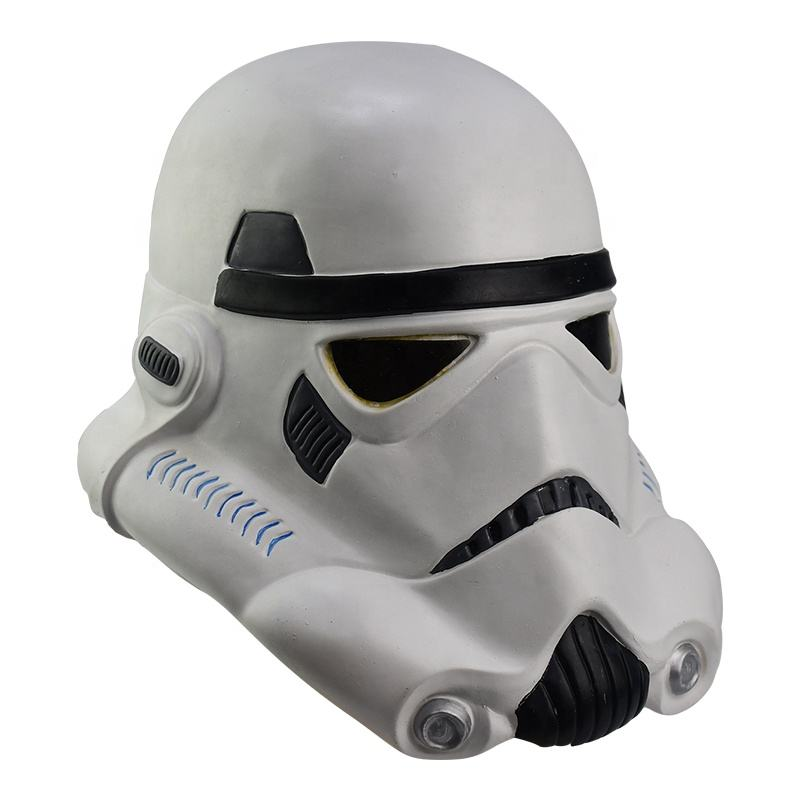 Top Sales Hot Movie Ainiel Star Movie Wars Death Stormtrooper Skywalker Helm De Mandalorian Helm Pvc Latex