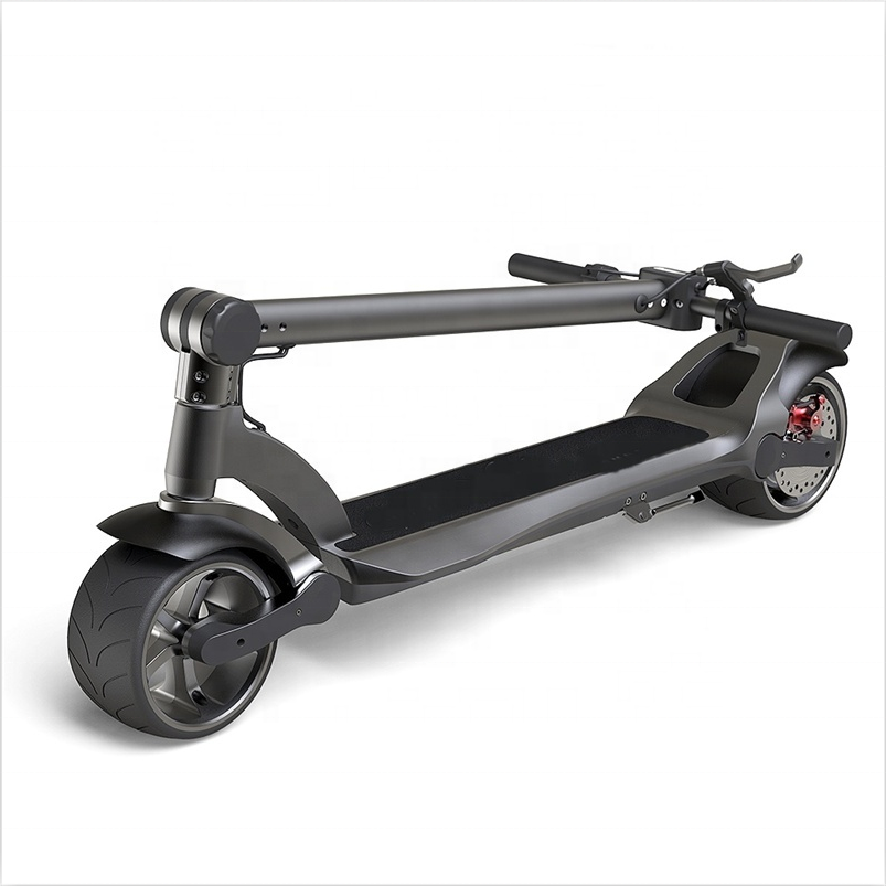 Hoodax dual motor wide wheel Electric Scooter 500w electric adult