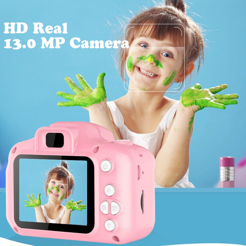 Hot Sale Birthday Gift Mini HD 1080P Camera Toy with Game for Kids Children