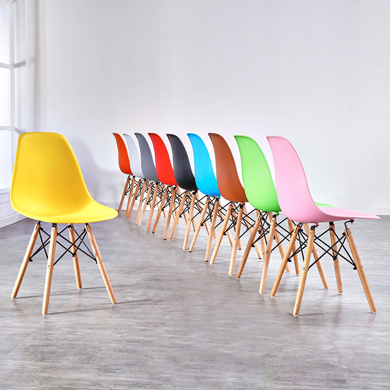 Free sample cheap price home furniture wholesale multi-color optional fashion dining chair customize