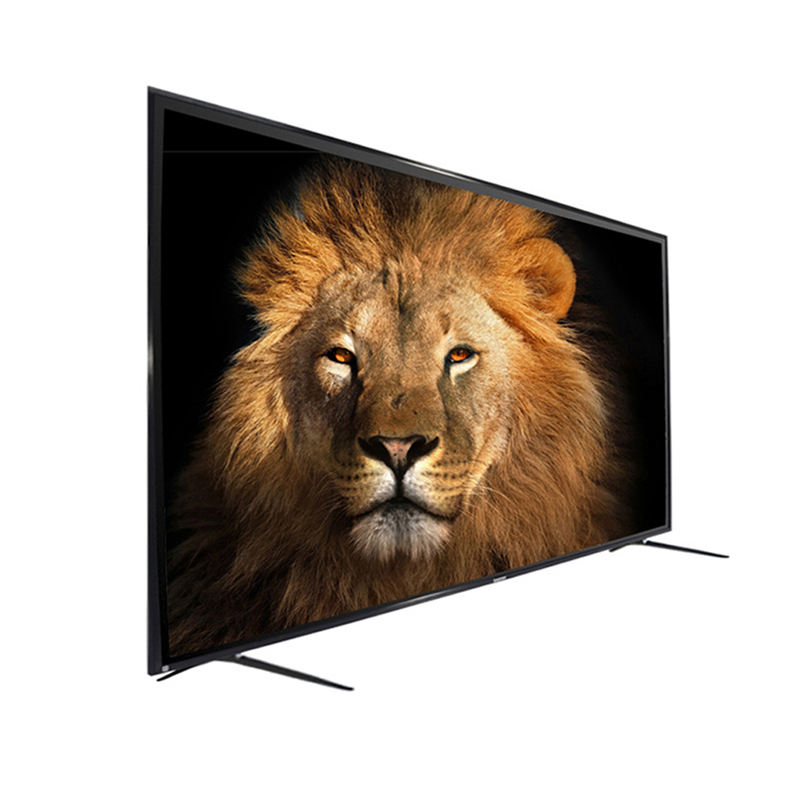 Android 9.0 wifi vetro temperato 4k UHD lcd grande rete televisiva smart 75 pollici led tv digitale <span class=keywords><strong>set</strong></span>