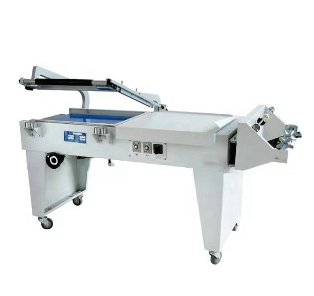 Manual Sealing Cutting Shrink Packing Machine for POF and PVC Shrink Film in Food / Book / Cosmetics / Tool / Toys Industry
