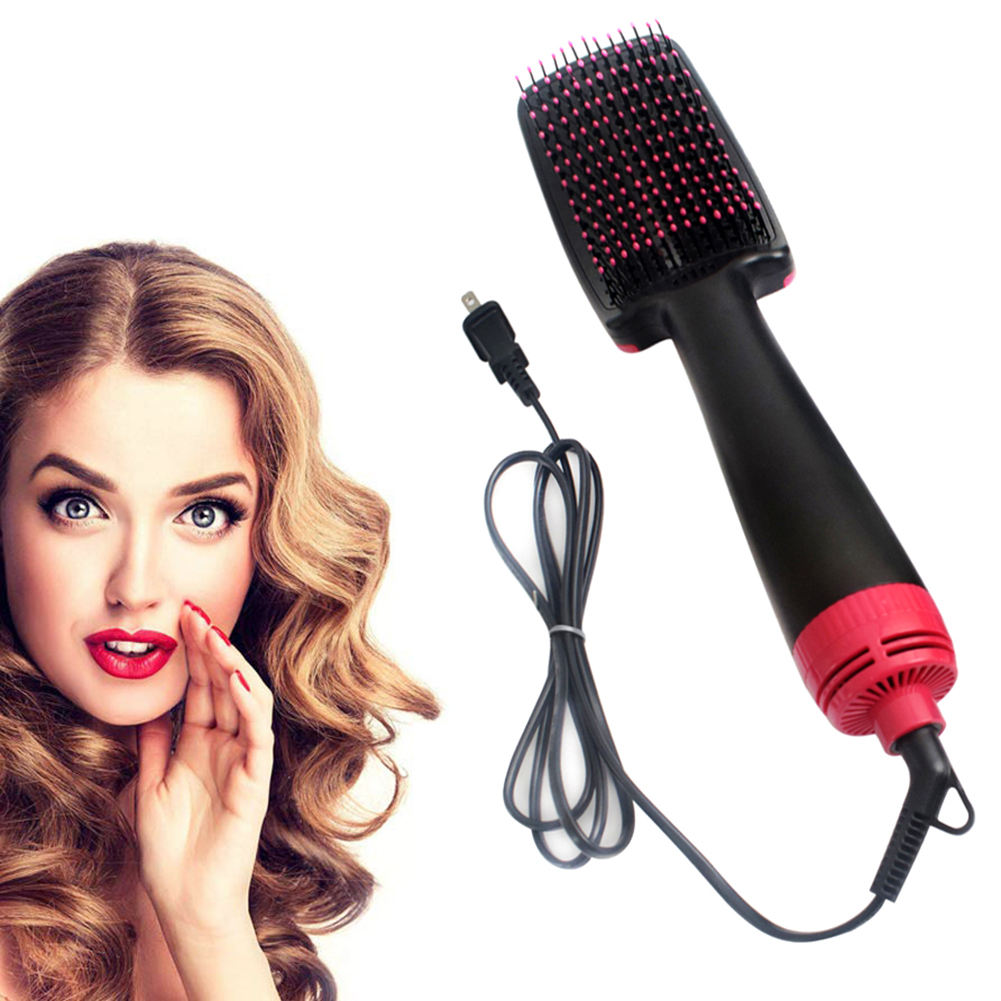 Hot Comb Hot Air Brush One Step with Brush Hot Air Blow Dryer Hair Straightener Hot Air Comb