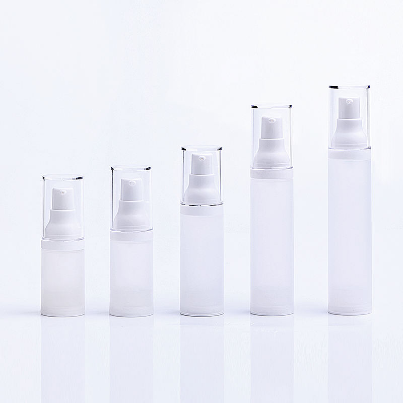 plastic airless bottle airless pump bottle cosmetic bottle